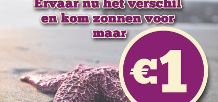 Zonnen voor maar € 1,- in Alphen aan den Rijn
